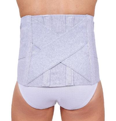 Corsetto schiena in cotone elasticizzato